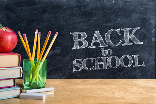 Back to School – Back to You!